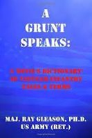 An image of a book titled: A Grunt Speaks