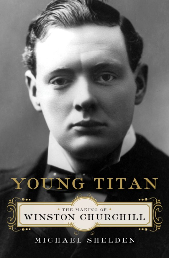 Young Titan-The Making of Winston Churchill Book Cover